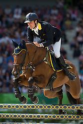 Giovanni Ugolotti, (ITA), Stilo Kontika - Jumping Eventing - Alltech FEI World Equestrian Games™ 2014 - Normandy, France.<br /> © Hippo Foto Team - Leanjo De Koster<br /> 31-08-14