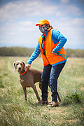SHOT 5/9/20 1:29:07 PM - Various pointing breeds compete in the Vizsla Club of Colorado Licensed Hunt Test Premium at the Rocky Mountain Sporting Dog Club Grounds in Keenesburg, Co. (Photo by Marc Piscotty / © 2020)