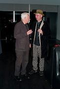 MICHAEL CRAIG-MARTIN; BOB AND ROBERTA SMITH; , Miroslaw Balka/John Baldessari Opening Reception, Tate Modern. Monday 12 October