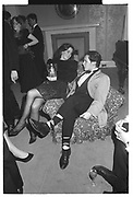 SIMONE KUBES, ED VAIZEY, Virago's reception, Old Library. Lady Margaret Hall, Oxford. May 1988