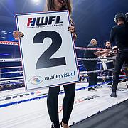 NLD/Almere/20171029 - Finale Spiike presents: WFL - Final 16, Fajah Lourens als rondemiss