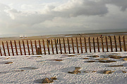 Le Touquet-Paris-Plage (Pas de Calais), France. .December 27th 2005..Winter lanscapes.