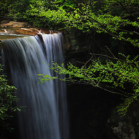 """""""Magic of Cucumber Falls""""<br /> <br /> A magical scenic waterfall located in Pennsylvania's Laurel Highlands!!<br /> <br /> Waterfalls by Rachel Cohen"""