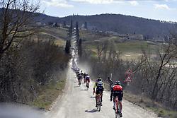 March 9, 2019 - Siena, Italia - Foto LaPresse - Fabio Ferrari.09 Marzo 2019 Siena (Italia).Sport Ciclismo.Strade Bianche 2019 - Gara uomini - da Siena a Siena.- 184 km (114,3 miglia).Nella foto: durante la gara..Photo LaPresse - Fabio Ferrari.March, 09 2019 Siena (Italy) .Sport Cycling.Strade Bianche 2018 - Men's race - from Siena to.Siena - 184 km (114,3 miles).In the pic: during the race (Credit Image: © Fabio Ferrari/Lapresse via ZUMA Press)