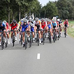 28-09-2016: Wielrennen: Olympia Tour: Assen <br />ASSEN (NED) wielrennen  <br />Kopgroep in de buurt van Gieten