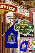 Shops on Main Street, Jacksonville, Oregon USA