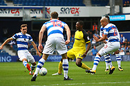 Burton Albion striker Marvin Sordell (17) during the EFL Sky Bet Championship match between Queens Park Rangers and Burton Albion at the Loftus Road Stadium, London, England on 23 September 2017. Photo by John Potts.