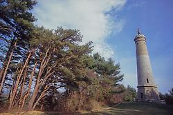 Miles Standish Monument, Duxbury, Massachusetts, US