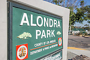 Alondra Park Monument