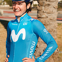 Jelena Eric. 2021 Movistar Team Training Camp, Almería. 15.1.2021.