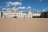 Horse Guards is a historic building in the City of Westminster, London.photo by Brian Jordan