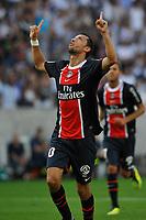 FOOTBALL - FRENCH CHAMPIONSHIP 2011/2012 - L1 - PARIS SG v VALENCIENNES FC - 21/08/2011 - PHOTO GUY JEFFROY / DPPI - JOY NENE (PSG)