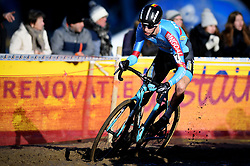 February 10, 2018 - Lille, BELGIUM - Belgian Michael Vanthourenhout pictured in action during the men's elite race of the Krawatencross cyclocross in Lille, the eighth and last stage in the DVV Verzekeringen Trofee Cyclocross competition, Saturday 10 February 2018. BELGA PHOTO DAVID STOCKMAN (Credit Image: © David Stockman/Belga via ZUMA Press)