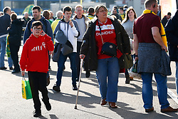 Bristol City supporters arriving at Carrow Road - Mandatory by-line: Phil Chaplin/JMP - FOOTBALL - Carrow Road - Norwich, England - Norwich City v Bristol City - Sky Bet Championship