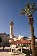 Israel, Ramla, The Grand Mosque. Originally a Crusader Church was converted to a mosque by the Mamluks in 1260