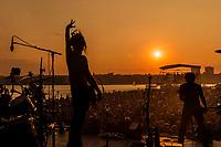 SOJA at Pier 97, New York City, July, 2014 (photo:John Shore)