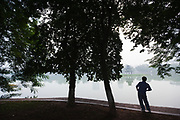 Hoan Kiem Lake, Hanoi, Vietnam<br /> No model release