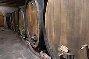 wooden vats dom faller weinbach kaysersberg alsace france