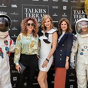 NLD/Amsterdam/20190606 - Talkies Terras Award 2019, Nicky Opheij en vriendinnen