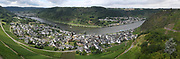 Mosel / Moezel is een wijnstreek in Duitsland rond de rivieren de Moezel<br /> <br /> Mosel / Moselle is a wine region in Germany around the rivers Moselle<br /> <br /> Op de foto / On the photo: De Burcht Thurant is een burcht bij de plaats Alken aan de Moezel op een brede uitloper van een berg. /////  The Thurant Castle is a castle in the village of Alken on the Mosel on a broad spur of a mountain.
