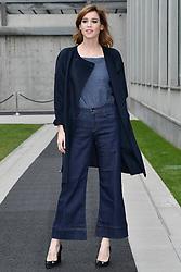 Matilda Lutz attending the Emporio Armani Fashion show during Milan Fashion Week