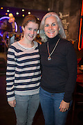 NO FEE PICTURES<br /> 30/12/15 Geraldine Doyle (right) and Amy Gooley, Tazmania at the Lingo Brunch poetry reading at the Meeting House, part of the New Years Festival in Dublin. nyf.com running from 30th Dec to 1st Jan in Dublin. Picture: Arthur Carron