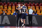Pancotto Cesare, Campogrande Luca<br /> Acqua S.Bernardo Cantù - Virtus Roma<br /> Legabasket Serie A UnipolSAI 2020/2021<br /> Desio, 22/11/2020<br /> Foto Ciamillo-Castoria/ Alessia Doniselli