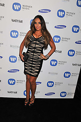 TAMARA ECCLESTONE at the Warner Music Group Post Brit Awards Party in Association with Samsung held at The Savoy, London on 20th February 2013.