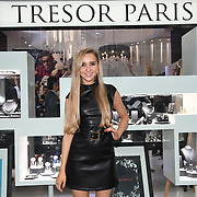 Emily Adams is a Capital FM presenter arrives at Tresor Paris In2ruders - launch at Tresor Paris, 7 Greville Street, Hatton Garden, London, UK 13th September 2018.