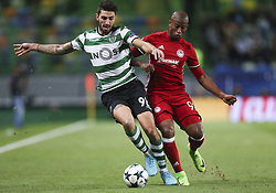 November 22, 2017 - Na - Lisbon, 11/22/2017 - Sporting Clube de Portugal received Olympiacos FC in the José Alvalade stadium tonight for the fifth round of Group D of the 2017/18 Champions League. Piccini and Sebà (Credit Image: © Atlantico Press via ZUMA Wire)