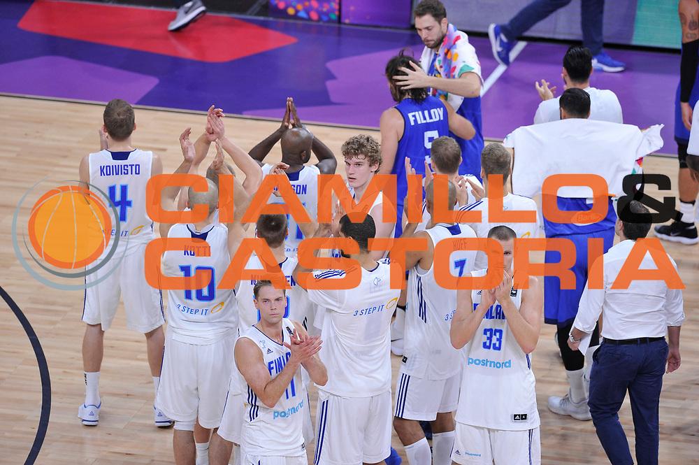 Delusione filandra<br /> Nazionale Italiana Maschile Senior<br /> Eurobasket 2017 - Final Phase - Round of 16<br /> Finlandia Italia Finland Italy<br /> FIP 2017<br /> Istanbul, 09/09/2017<br /> Foto GiulioCiamillo / Ciamillo - Castoria