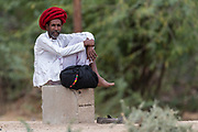 Man from rajasthan, India.