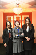 SHOT 12/4/19 11:23:24 AM - McGuane & Hogan, P.C., a Colorado family law firm located in Denver, Co. Includes attorneys Kathleen Ann Hogan, Halleh T. Omidi and Katie P. Ahles. (Photo by Marc Piscotty / © 2019)