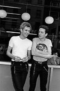 The Clash Joe Strummer and Paul Simonon - Oxford Street London1979