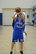 DESCRIZIONE : Roma Acqua Acetosa amichevole Nazionale Italia Donne<br /> GIOCATORE : Martina Crippa<br /> CATEGORIA : tiro<br /> SQUADRA : Nazionale Italia femminile donne FIP<br /> EVENTO : amichevole Italia<br /> GARA : Italia Lazio Basket<br /> DATA : 27/03/2012<br /> SPORT : Pallacanestro<br /> AUTORE : Agenzia Ciamillo-Castoria/GiulioCiamillo<br /> Galleria : Fip Nazionali 2012<br /> Fotonotizia : Roma Acqua Acetosa amichevole Nazionale Italia Donne