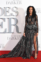 Corinne Bailey Rae arriving for the Fifty Shader Darker European Premiere held at Odeon Leicester Square, London. Picture date: Thursday February 9, 2016. Photo credit should read: Doug Peters/ EMPICS Entertainment