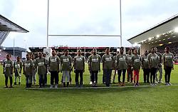 The Zulu Project perform at Ashton Gate - Mandatory byline: Robbie Stephenson/JMP - 25/05/2016 - RUGBY UNION - Ashton Gate Stadium - Bristol, England - Bristol Rugby v Doncaster Knights - Greene King IPA Championship Play Off FINAL 2nd Leg.