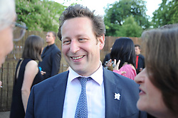 ED VAIZEY MP at the annual Serpentine Gallery Summer party this year sponsored by Jaguar held at the Serpentine Gallery, Kensington Gardens, London on 8th July 2010.  2010 marks the 40th anniversary of the Serpentine Gallery and the 10th Pavilion.