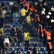 Fenerbahce's Supporters fans during their Turkish superleague soccer match Fenerbahce between Bursaspor at the Sukru Saracaoglu stadium in Istanbul Turkey on Sunday 10 March 2013. Photo by Aykut AKICI/TURKPIX