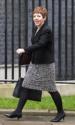 Downing Street, London, September 15th 2015.  Leader of the House of Lords Baroness Stowell arrives at 10 Downing Street to attend the weekly cabinet meeting