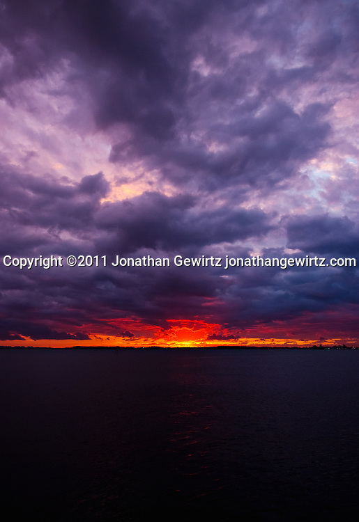 The sun rises over Virginia Key just East of Miami, Florida. WATERMARKS WILL NOT APPEAR ON PRINTS OR LICENSED IMAGES.