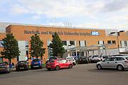 Norfolk and Norwich University Hospital, Norwich, Norfolk, England, UK