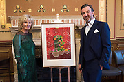 SYBIL ROBSON ORR; MATTHEW ORR, TenTen. The Government Art Collection/Outset Annual Award. Champagne reception to announce the inaugural artist Hurvin Anderson and unveil his 2018 print. Locarno Suite, Foreign and Commonwealth Office. SW1. 2 October 2018