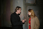 Ben Elliot and Celia von Bismark, SIMON de PURY AND THE PARTNERS OF PHILLIPS de PURY & COMPANY Host a dinner in honour of <br />ILYA AND EMILIA KABAKOV. FOLLOWED BY THE BOX PARTY HOSTED  BY QUINTESSENTIALLY.  WILTONS <br />GRACES ALLEY  OFF ENSIGN STREET, London E1. 12 October 2007. -DO NOT ARCHIVE-© Copyright Photograph by Dafydd Jones. 248 Clapham Rd. London SW9 0PZ. Tel 0207 820 0771. www.dafjones.com.
