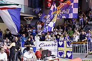 Tifosi Cremona, GRISSIN BON REGGIO EMILIA vs VANOLI CREMONA, Campionato Lega Basket Serie A 2017/2018, recupero 23° giornata, PalaBigi Reggio Emilia 18 aprile 2018 - FOTO Bertani/Ciamillo