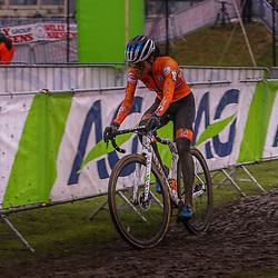 30-01-2021: Wielrennen: WK Veldrijden: Oostende<br />Ceylin del Carmen Alvarado