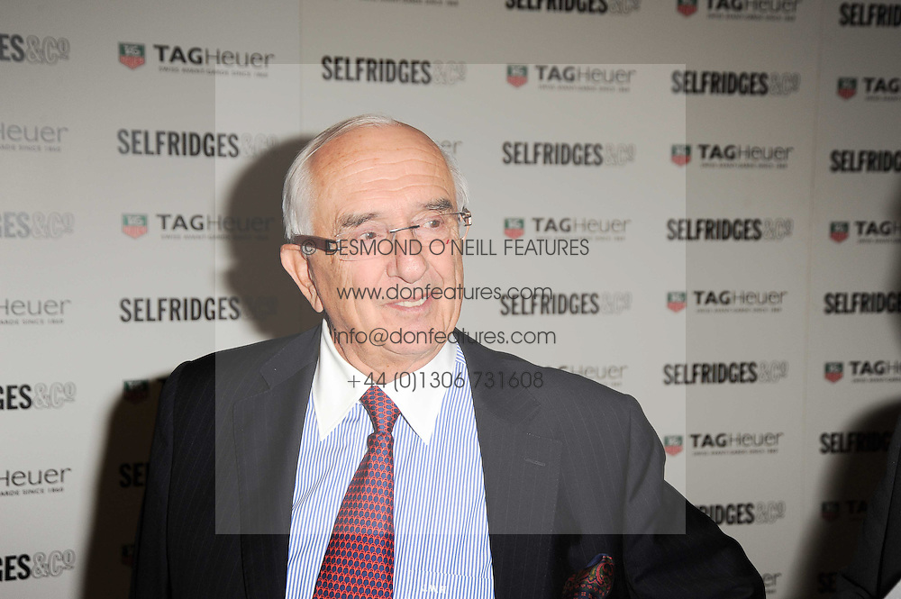 JACK HEUER at a party to celebrate 150 years of TAG Heuer held at the car park at Selfridge's, London on 15th September 2010.