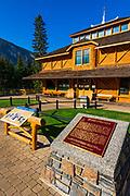 The Banff Museum, Banff National Park, Alberta, Canada