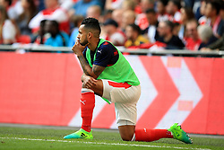 23 April 2017 - The FA Cup - Semi Final - Arsenal v Manchester City - Substitute Theo Walcott of Arsenal looks on from the sidelines - Photo: Marc Atkins / Offside.