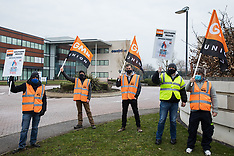 2021-03-08 GMB engineers strike at Centrica HQ